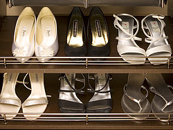 custom shoe rack
