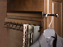 Closet Tie Organizer